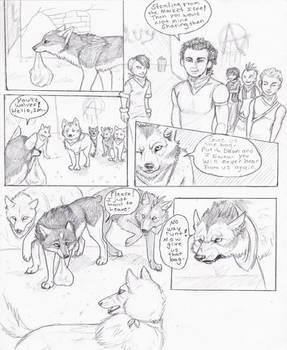 Wolf's Rain Next Generation 1 by NatsumeWolf