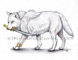 Hikari Wolf by NatsumeWolf