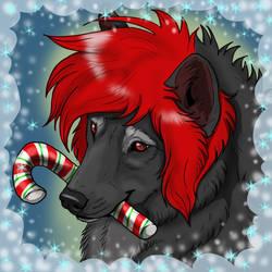 Secrete Santa Sacredwolfe by NatsumeWolf