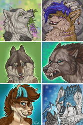All Der Wolves by NatsumeWolf