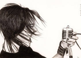 Bill Kaulitz 19 by crayon2papier