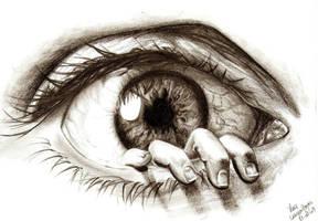 The Eye... by crayon2papier