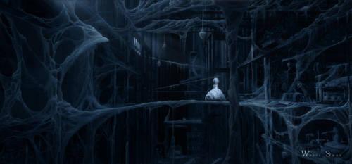White Swan - BridgeScene Final by Akajork