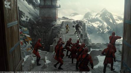 G.I. JOE - Retaliation, Mountain Sequence by Akajork