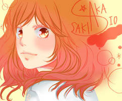 Futaba - Ao Haru Ride by Makaa-chann