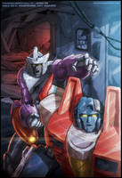 Transformers ReGeneration One #87 cover by JasonCardy