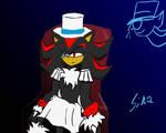 Kaito Shadow demon by sira-the-hedgehog
