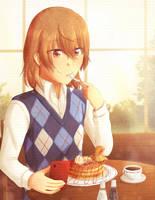 Birthday Pancakes by dashofcreativity