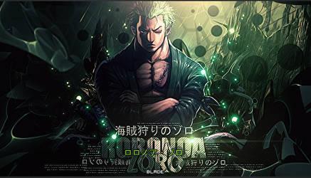 Roronoa zoro sig by Aura-Blade4