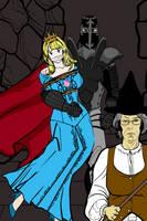 Princess Haylee and the Wicked Witch Part 1 by darkprinceNarrok