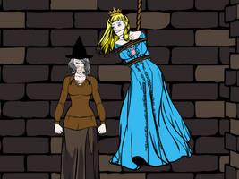 Princess Haylee Vs the Witch Part 2 by darkprinceNarrok