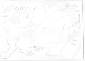 Skilodramon my digimon by Liz-Lxil