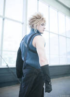 Cloud Strife - Final Fantasy: Advent Children by Paper-Cube