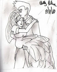 Goten and Valese wedding by Betty26Blue