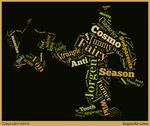 Jorgen Von Strangle Word Cloud Typography by 120dog
