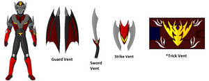 Request- Kamen Rider Wyvern by DarkLordJadow