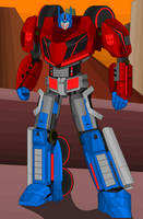 WFC Optimus Prime by DarkLordJadow