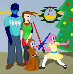The Christmas Awakens by DarkLordJadow