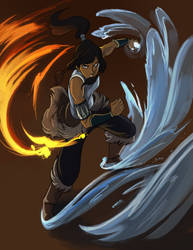 Legend of Korra by LeishaRiddel