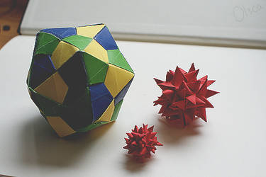 Origami shapes by OlsCa