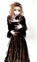 Hizaki sketch again by cali-tani