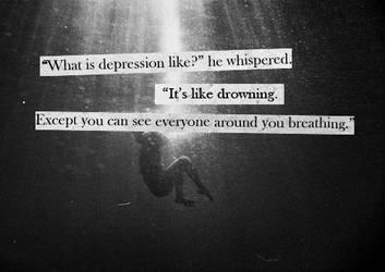 Depression by The-Orange-Ribbon