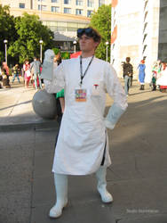 Dr Horrible Stalking the Con by Stormfalcon