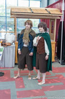 Hobbits Searching for Food by Stormfalcon