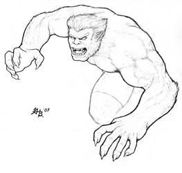 Beast from the X-Men by ghbarratt