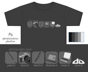 deviantWear Shirt Entry 1 by ghbarratt