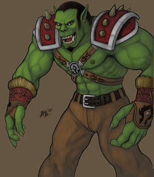 Warcraft Orc 2007 by ghbarratt