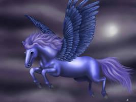 Pegasus by Nyffetyff