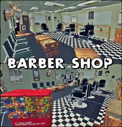 Barber Shop - XNALara by JhonyHebert