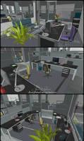 Offices - Memento Mori 2 by JhonyHebert