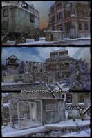 Constructions  - Memento Mori 2 by JhonyHebert