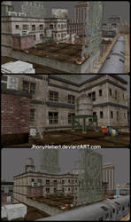 Rooftop - Dead Or Alive 5 by JhonyHebert