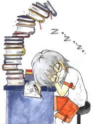Sleeping by Kino1307