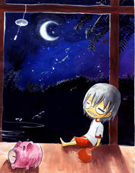 Summer night by Kino1307
