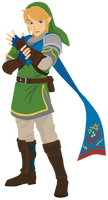 Link : Hyrule Warriors Vector by firedragonmatty