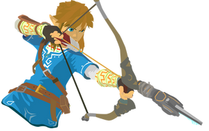Link - Legend of Zelda Breath of the Wild Vector by firedragonmatty