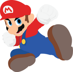 Mario - 01 : Smash Bros Ultimate - Vector Art by firedragonmatty