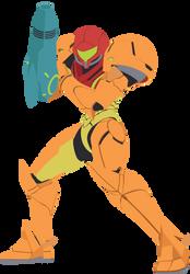 Samus - 04 : Smash Bros Ultimate - Vector Art by firedragonmatty
