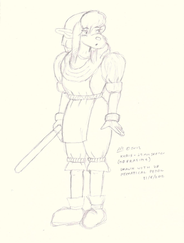 25-min-no-erase: Khris by cullsoft