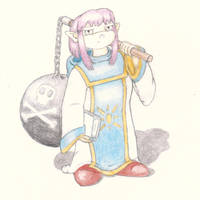 Prim (Concept sketch for Shining Soul 2 comic) by cullsoft
