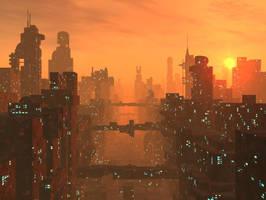 Mega City by Zer05um