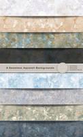 8 Aquarel Backgrounds by Divenadesign