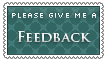 stamp: give me feedback by Asagi-Hyuuei