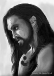 Drogo loose hair by Mirishka by mirishka10