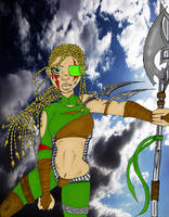 Thaila Athena by DarkNightGraphX