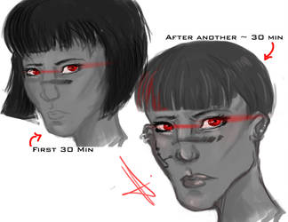 Red Eye Spitpaint by DarkNightGraphX